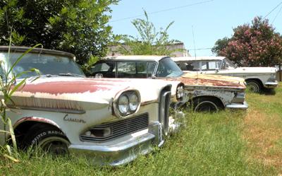 Edsel graveyard