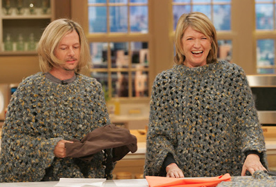 Martha Stewart and David Spade on The Poncho Show[1]