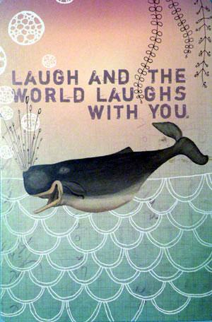 Papaya whale