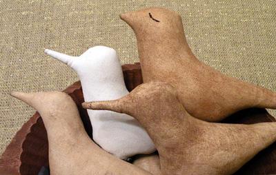 Shore bird beaks
