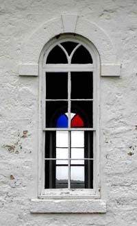 Window outside in