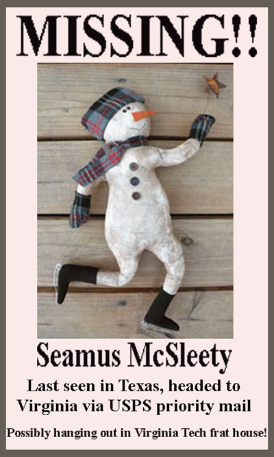 Missing Seamus